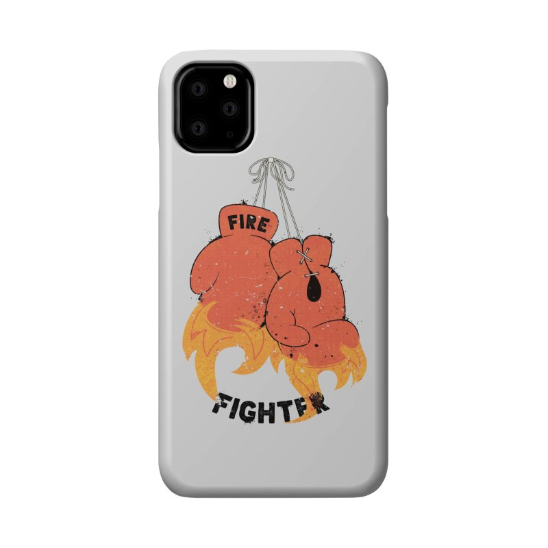 Fire Fighter Accessories Phone Case by Cumulo 7