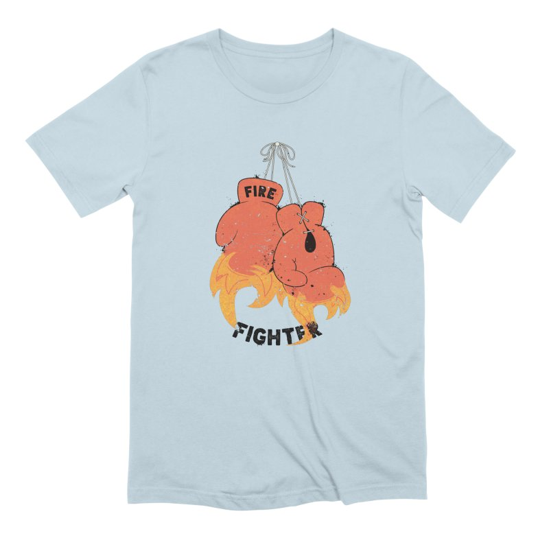 Fire Fighter Men's Extra Soft T-Shirt by Cumulo 7
