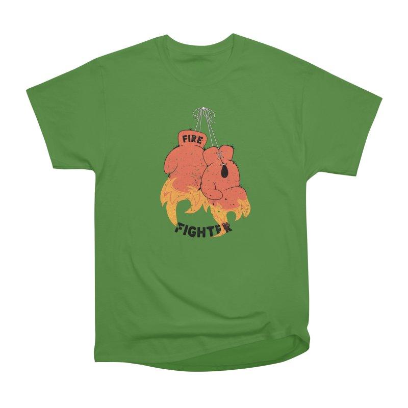 Fire Fighter Women's Classic Unisex T-Shirt by cumulo7's Artist Shop