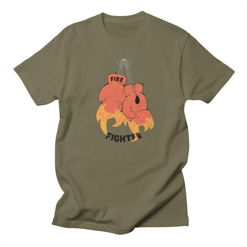 Fire Fighter Women's Regular Unisex T-Shirt by Cumulo 7