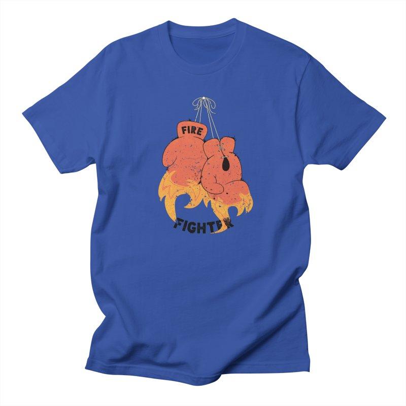 Fire Fighter Women's Unisex T-Shirt by cumulo7's Artist Shop