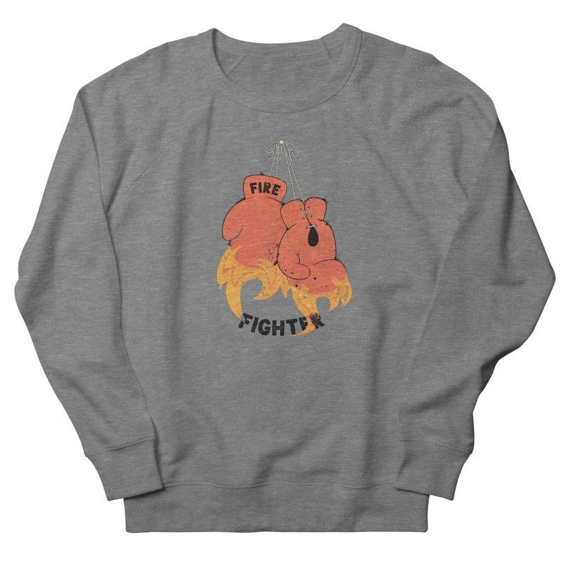 Fire Fighter Women's Sweatshirt by Cumulo 7
