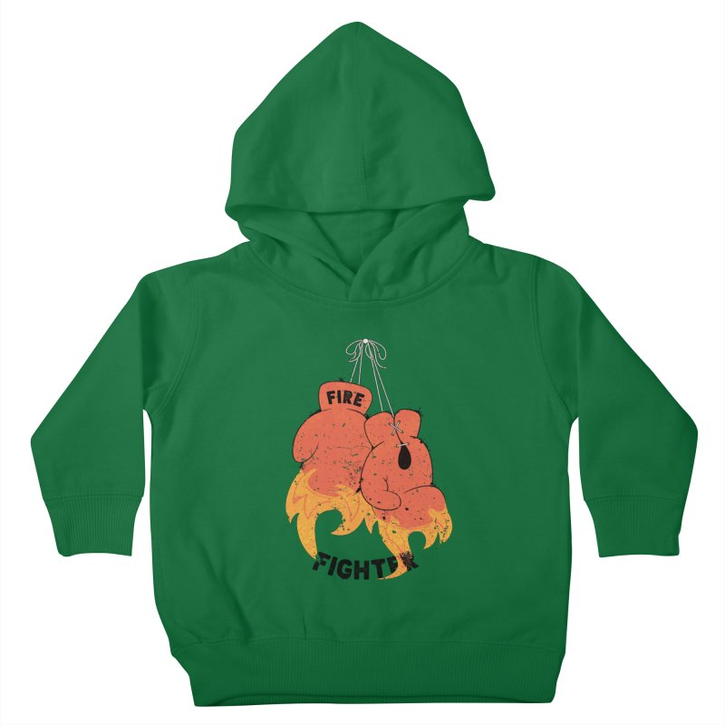 Fire Fighter Kids Toddler Pullover Hoody by cumulo7's Artist Shop
