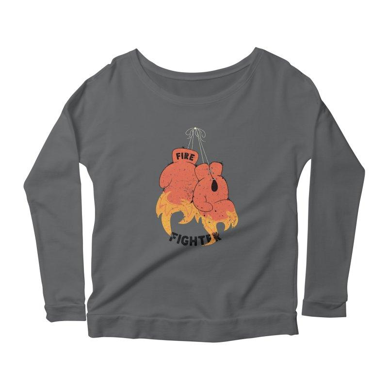 Fire Fighter Women's Longsleeve T-Shirt by Cumulo 7