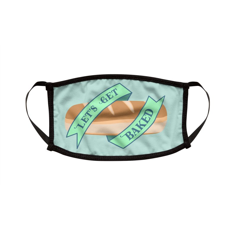 Let's Get Baked Accessories Face Mask by Cunning Linguist Co.