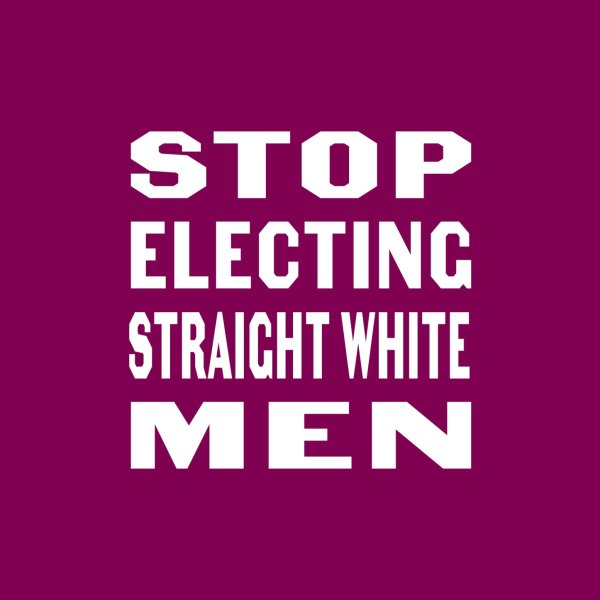 image for Stop Electing Straight White Men