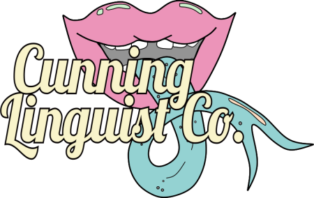 Logo for Cunning Linguist Co.