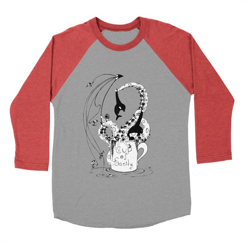 cup n'colour Women's Baseball Triblend T-Shirt by cuppadoodle's Artist Shop
