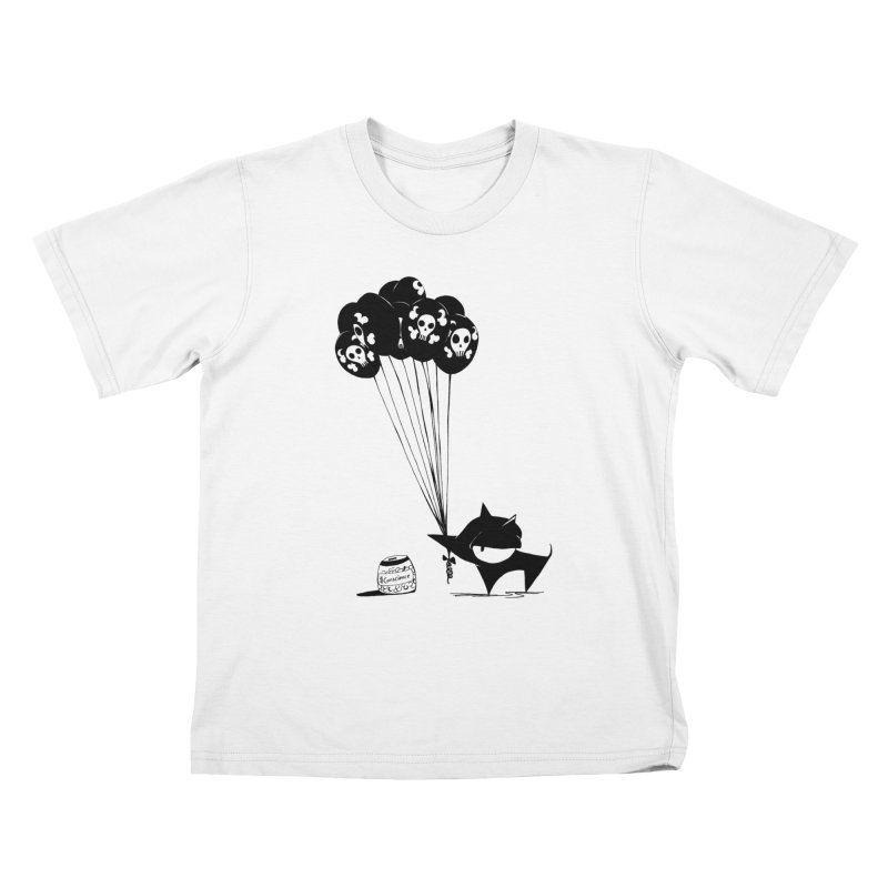 balloons Kids T-Shirt by cuppadoodle's Artist Shop