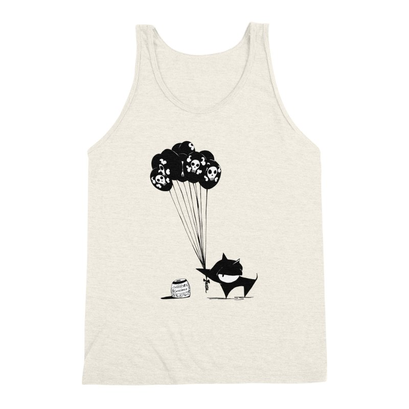 balloons Men's Triblend Tank by cuppadoodle's Artist Shop