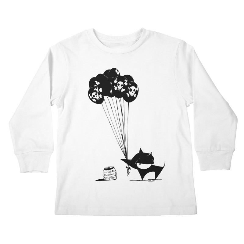 balloons Kids Longsleeve T-Shirt by cuppadoodle's Artist Shop