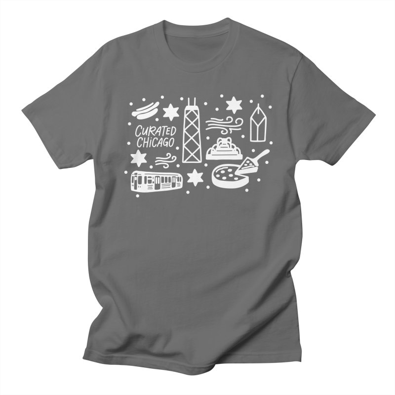 Curated Chicago City Scene white Women's T-Shirt by curatedchicago's Artist Shop