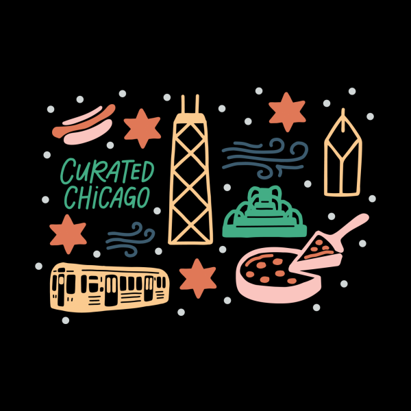 Design for Curated Chicago City Scene color