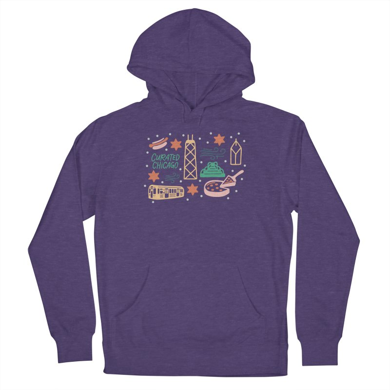 Curated Chicago City Scene color Women's Pullover Hoody by curatedchicago's Artist Shop