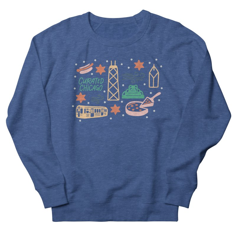 Curated Chicago City Scene color Men's Sweatshirt by curatedchicago's Artist Shop