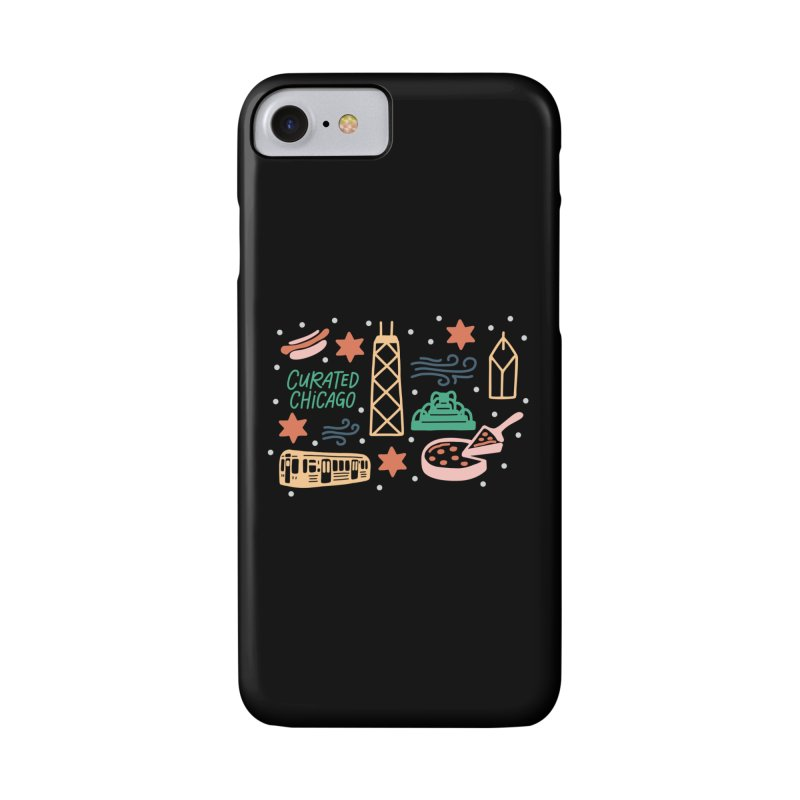 Curated Chicago City Scene color Accessories Phone Case by curatedchicago's Artist Shop