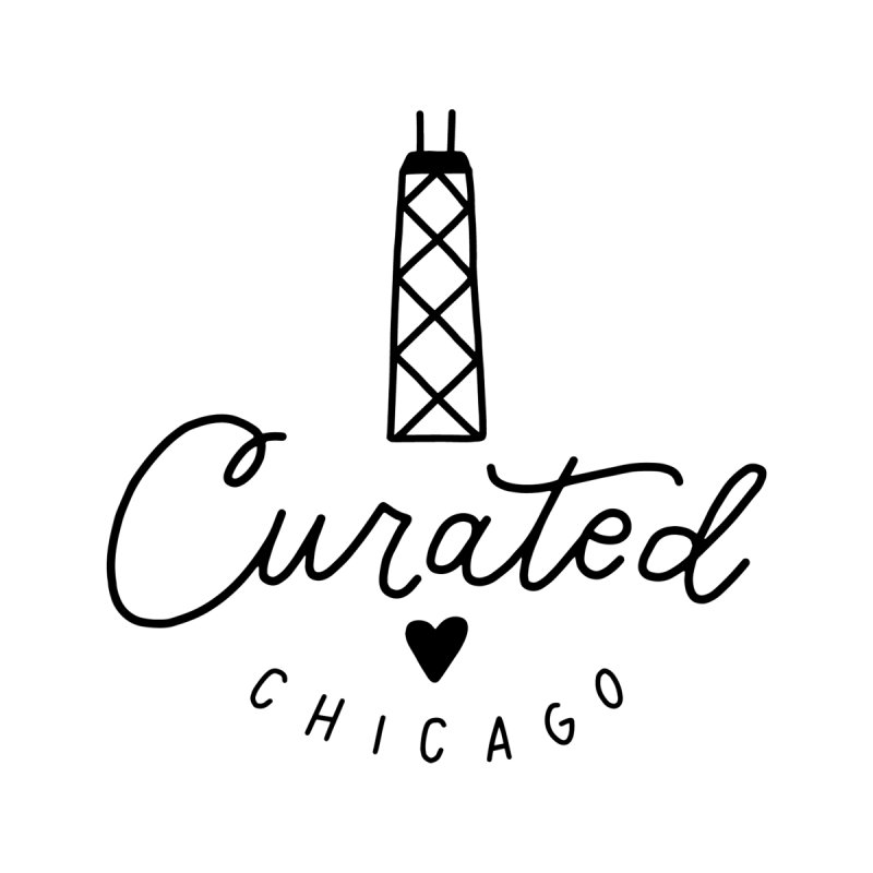 Curated Chicago Logo Men's T-Shirt by curatedchicago's Artist Shop