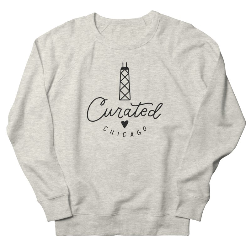 Curated Chicago Logo Women's Sweatshirt by curatedchicago's Artist Shop
