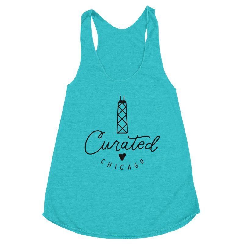 Curated Chicago Logo Women's Tank by curatedchicago's Artist Shop