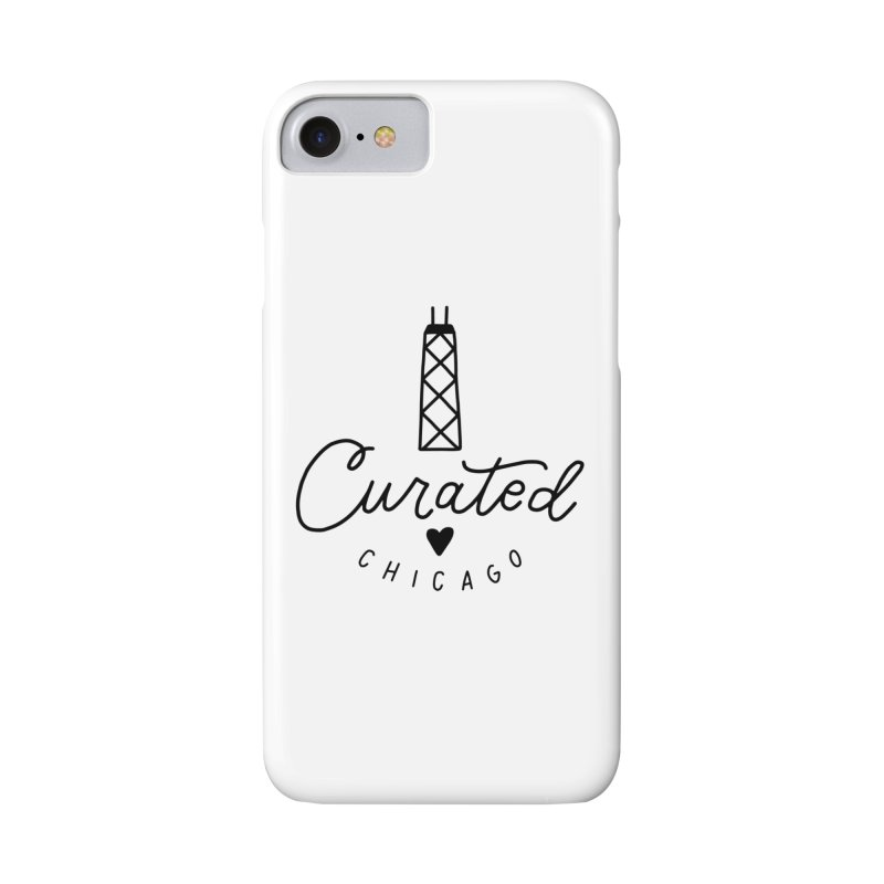 Curated Chicago Logo Accessories Phone Case by curatedchicago's Artist Shop