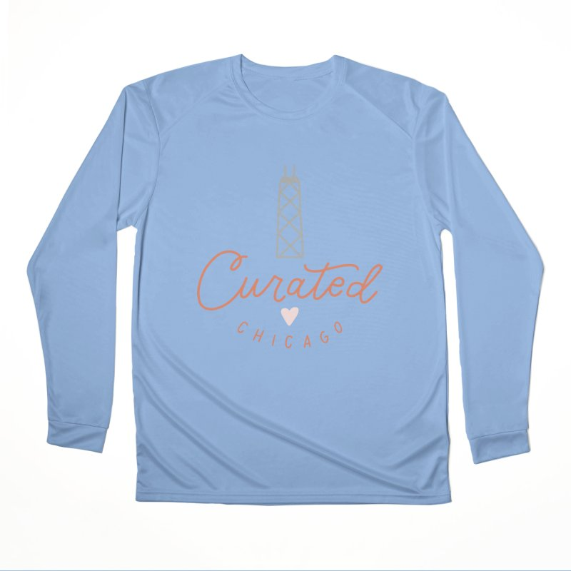Curated Chicago Logo color Men's Longsleeve T-Shirt by curatedchicago's Artist Shop