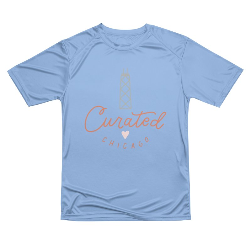 Curated Chicago Logo color Men's T-Shirt by curatedchicago's Artist Shop