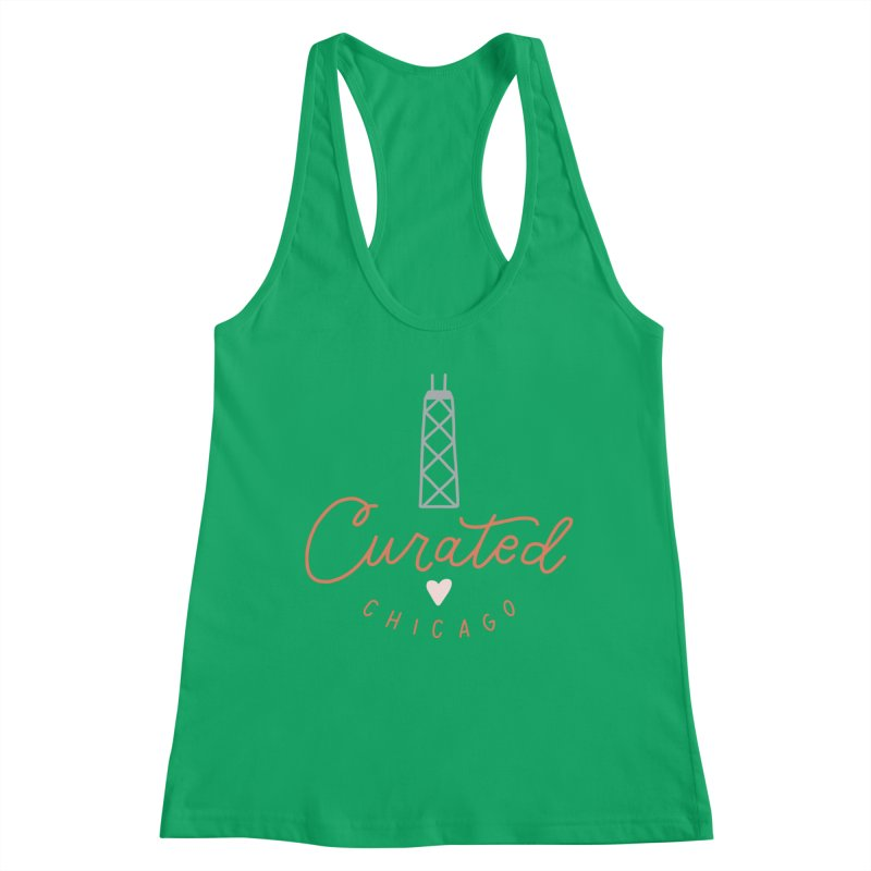 Curated Chicago Logo color Women's Tank by curatedchicago's Artist Shop