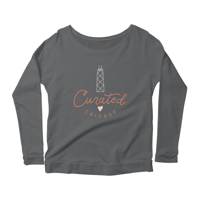 Curated Chicago Logo color Women's Longsleeve T-Shirt by curatedchicago's Artist Shop