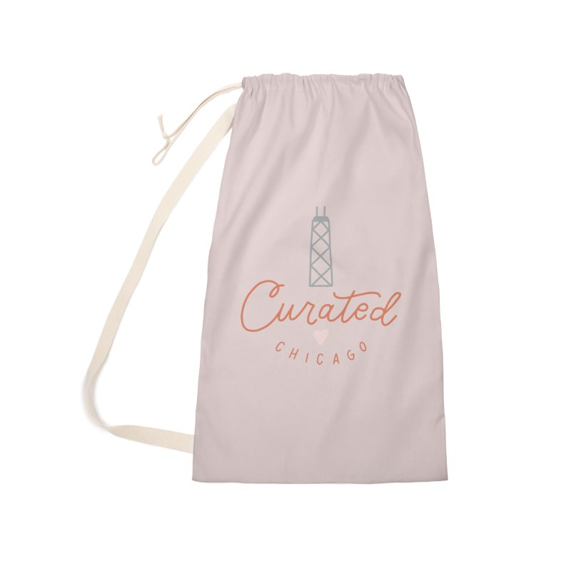Curated Chicago Logo color Accessories Bag by curatedchicago's Artist Shop