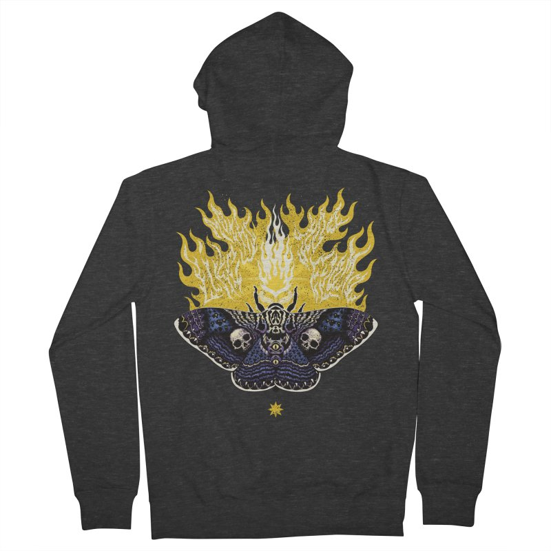 Like Moths to a Flame Women's Zip-Up Hoody by Curiosity Supply Co.