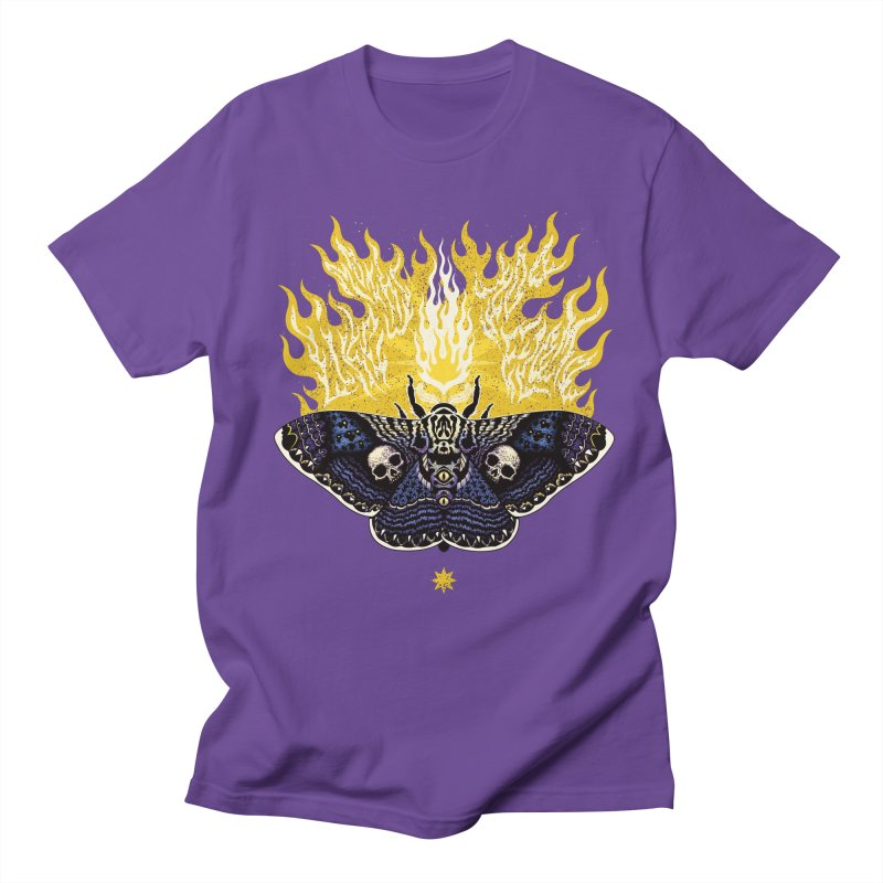 Like Moths to a Flame Men's T-shirt by Curiosity Supply Co.