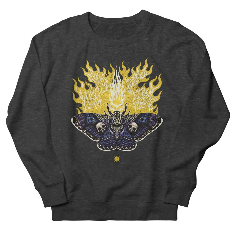 Like Moths to a Flame Women's Sweatshirt by Curiosity Supply Co.