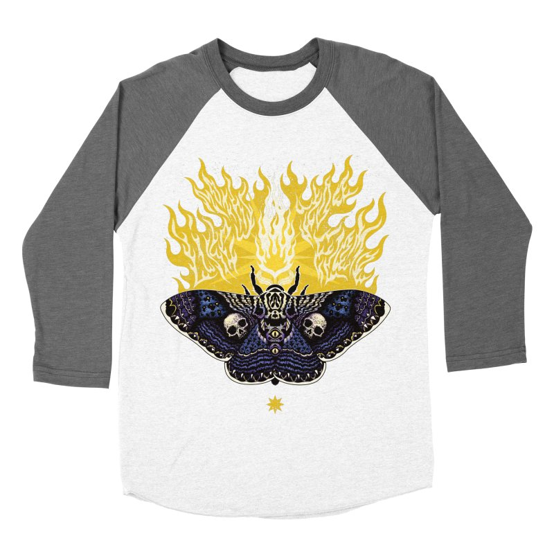 Like Moths to a Flame Women's Baseball Triblend T-Shirt by Curiosity Supply Co.