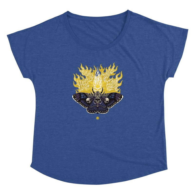 Like Moths to a Flame Women's Dolman by Curiosity Supply Co.