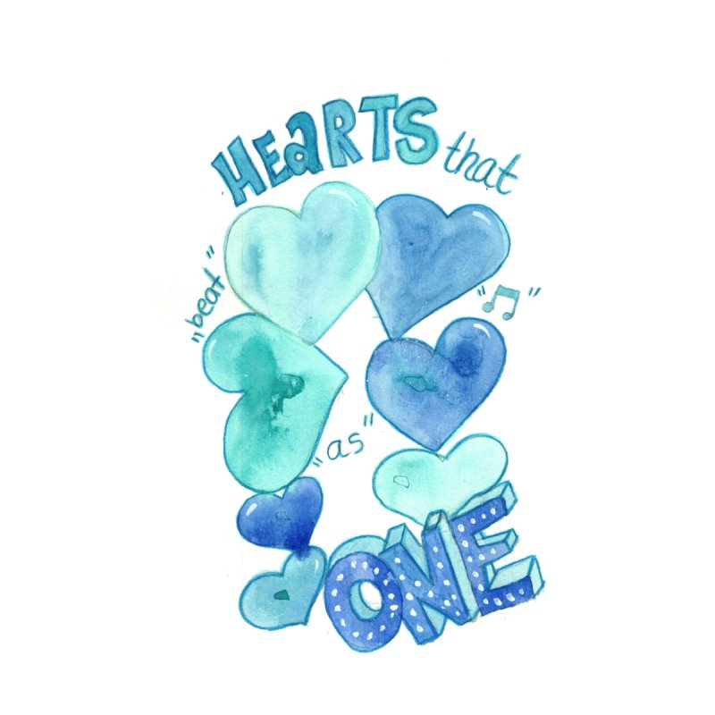 Hearts That Beat as One by Mireya In Wonder