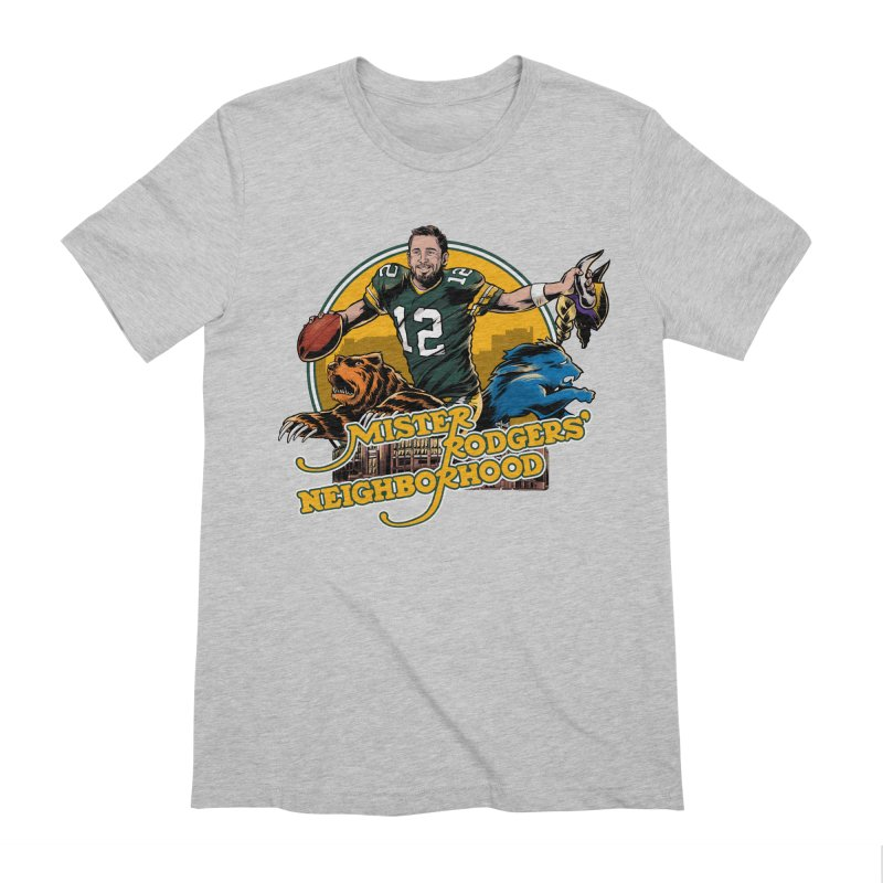 Mister Rodgers' Neighborhood Men's T-Shirt by Curly & Co.