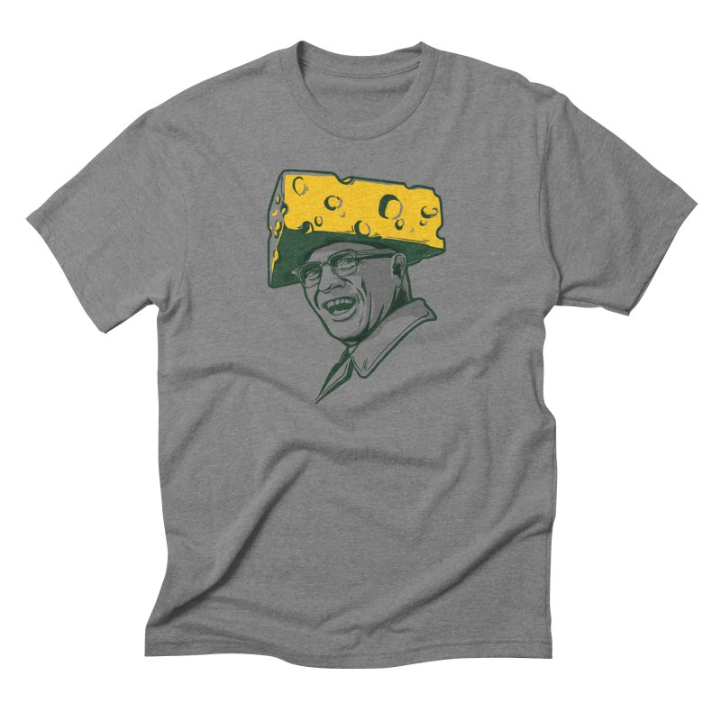 Cheesehead Vince Men's T-Shirt by Curly & Co.