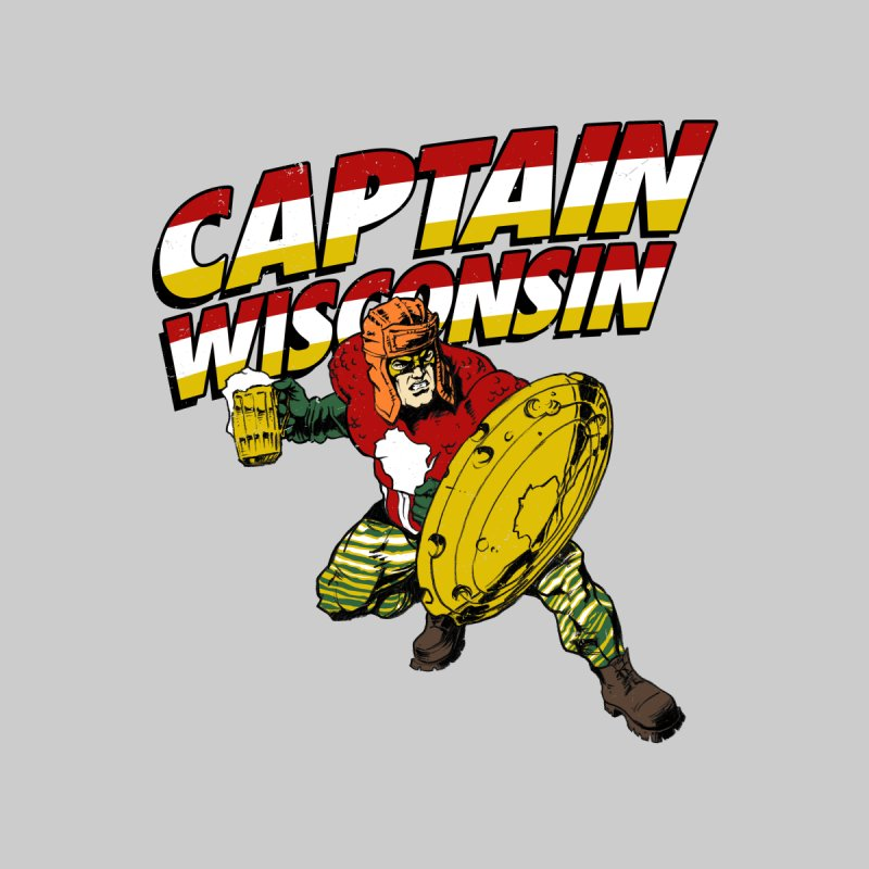 Captain Wisconsin Women's T-Shirt by Curly & Co.