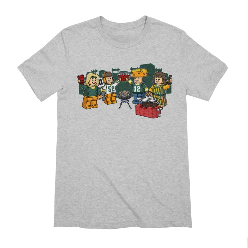 It's Gametime in Green Bay Men's T-Shirt by Curly & Co.