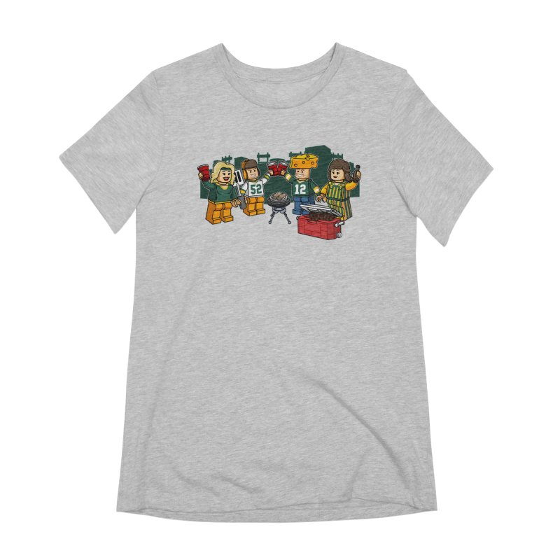 It's Gametime in Green Bay Women's Extra Soft T-Shirt by Curly & Co.
