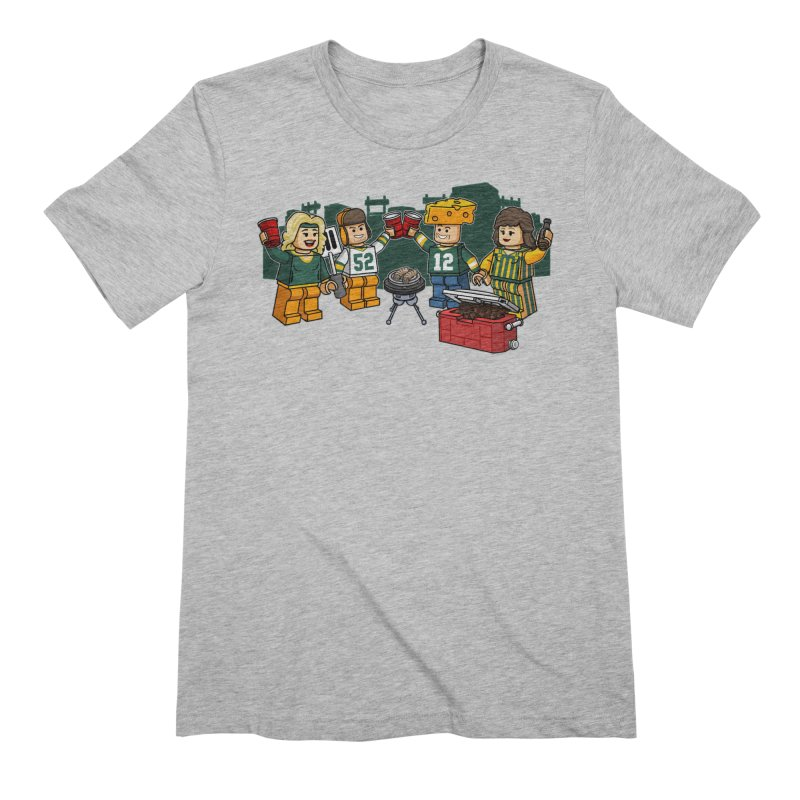 It's Gametime in Green Bay Men's T-Shirt by Curly & Co.