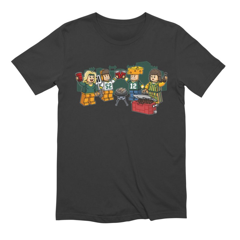It's Gametime in Green Bay Men's Extra Soft T-Shirt by Curly & Co.