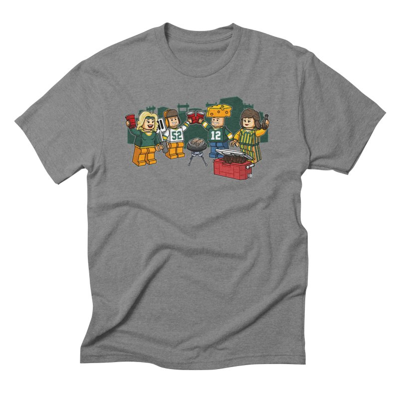 It's Gametime in Green Bay Men's Triblend T-Shirt by Curly & Co.