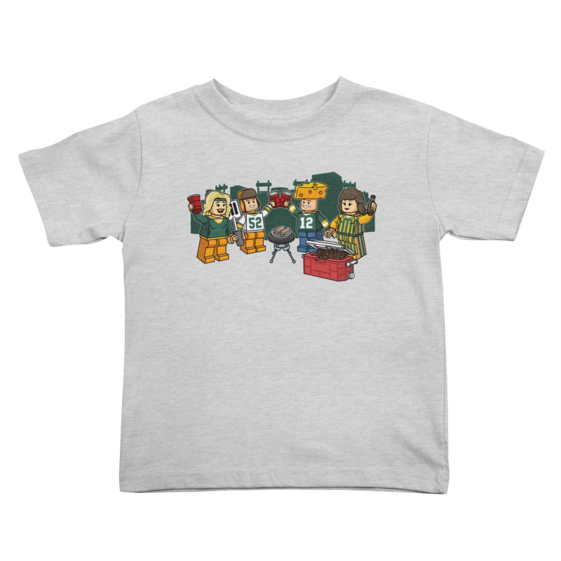 It's Gametime in Green Bay Kids Toddler T-Shirt by Curly & Co.