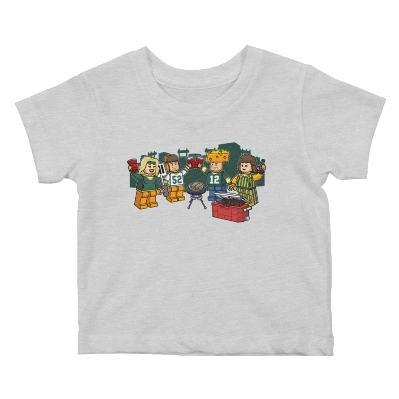 It's Gametime in Green Bay Kids Baby T-Shirt by Curly & Co.