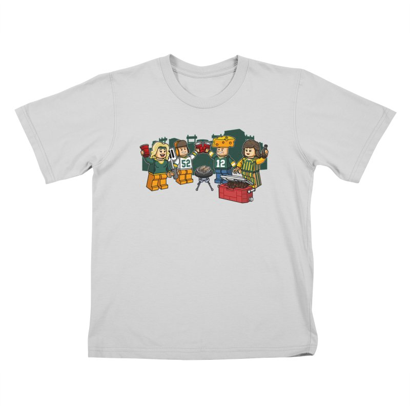 It's Gametime in Green Bay Kids T-Shirt by Curly & Co.
