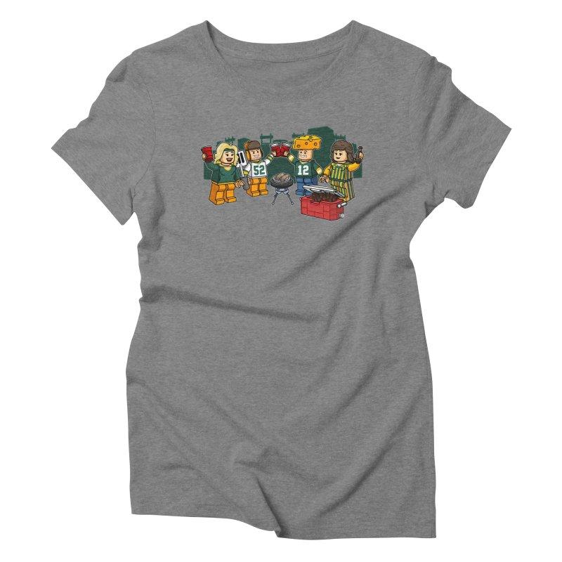 It's Gametime in Green Bay Women's T-Shirt by Curly & Co.
