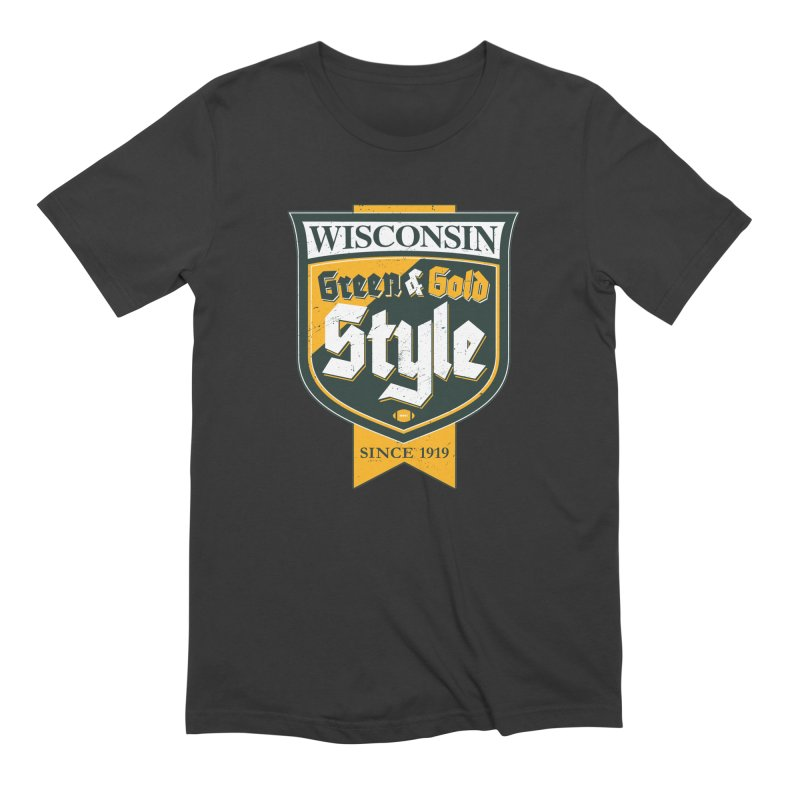 Green & Gold Style Men's T-Shirt by Curly & Co.