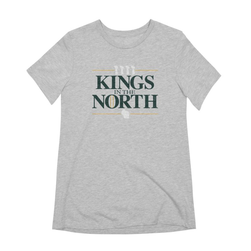 Kings in the North Women's Extra Soft T-Shirt by Curly & Co.
