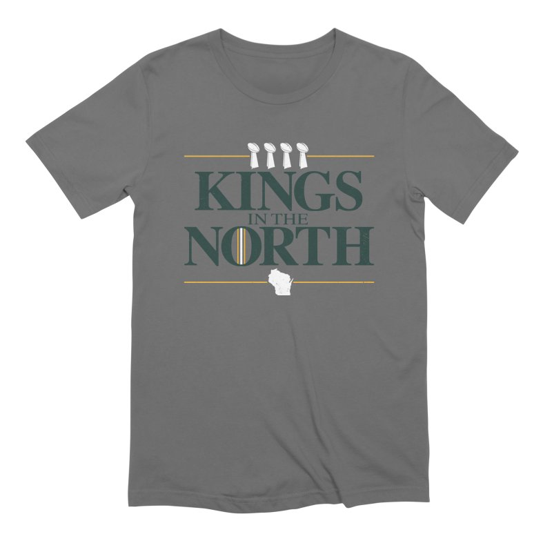 Kings in the North Men's Extra Soft T-Shirt by Curly & Co.